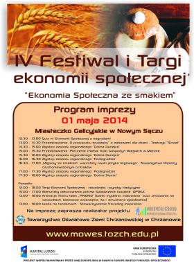 plakat festiwal i targi program